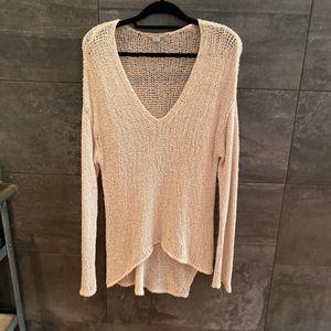 Helmut by Helmut Lang stone color sweater size L